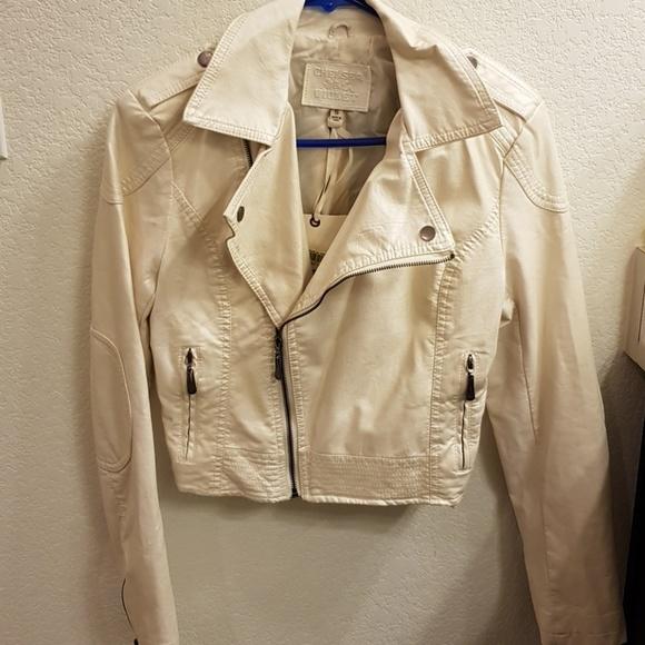 d53ef65f89e Chelsea & Violet Jackets & Coats   Nwt Chelsea Violet Faux Leather ...